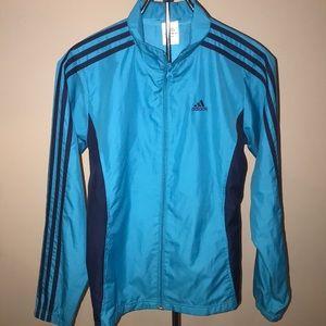 Adidas Jacket Turquoise Teal Small